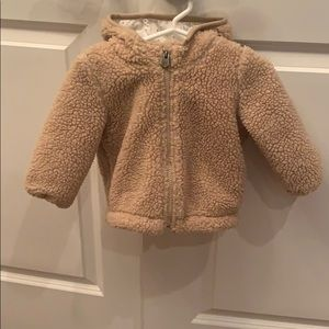 Gap Baby teddy jacket 🐻